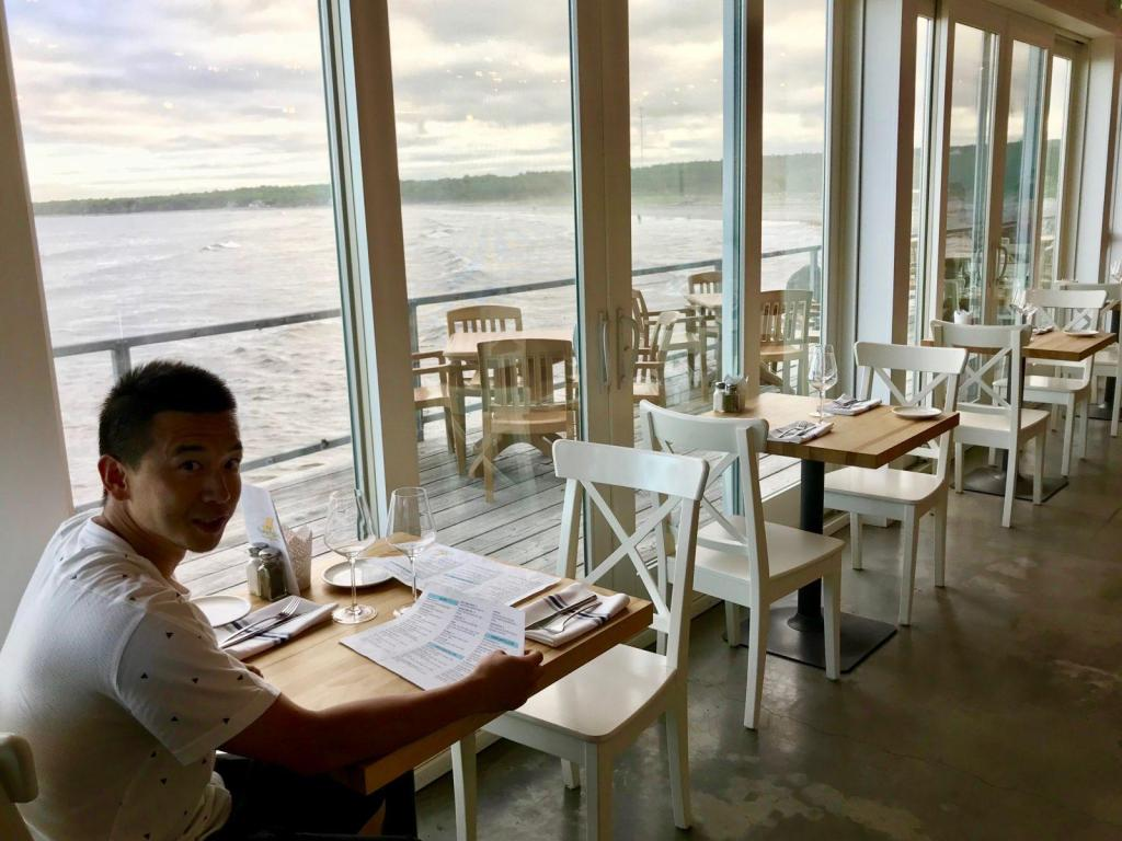The Quarterdeck Grill Restaurant - What a view!