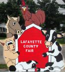 Lafayette County Fair sign.