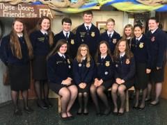 Shullsburg FFA Students