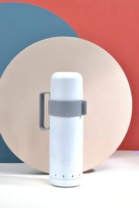 Colorful White Çelik Vakumlu Termos – Beyaz – 400ml