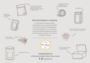 eco-friendly tea - sustainable packaging design