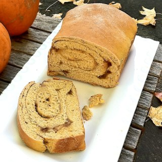 Double Pumpkin Swirl Bread