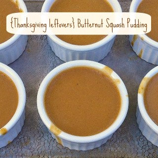 Post Thanksgiving Squash Pudding