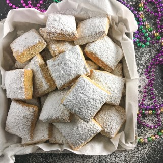 Baked Beignets for Mardi Gras