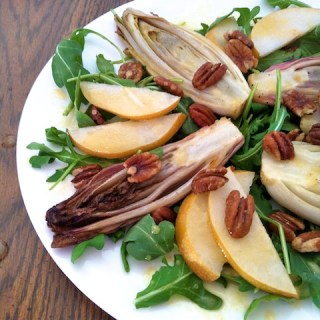 """Roasted Endive Salad With """"Mapple"""" Dressing"""