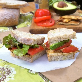 Grilled Tofu BLT Sandwich