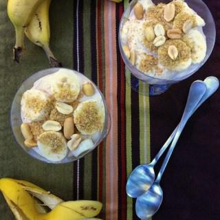 Whipped Peanut Butter Banana Parfaits | The Recipe ReDux