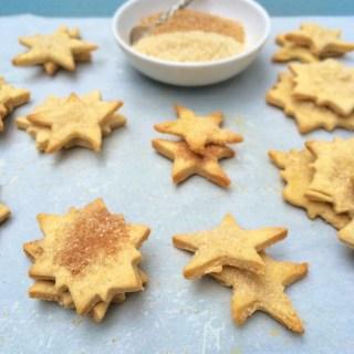 Whole Grain Pie Crust Cookies
