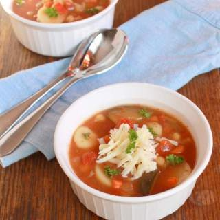 10 Minute Minestrone Soup