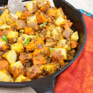Quick Potato Curry with Lentils
