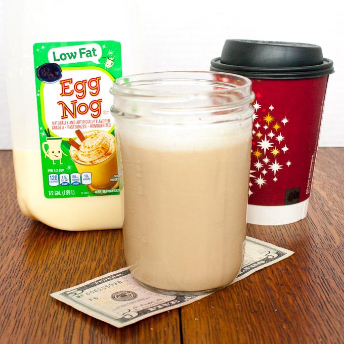 How to Make Homemade Eggnog Lattes | @tspcurry
