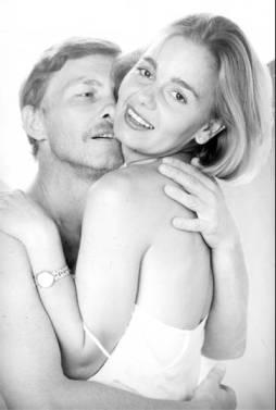 S Brankom Supekom na promotivnoj fotografiji za predstavu 'Prava stvar' 1989.