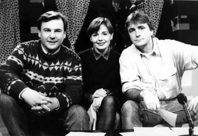 na setu popularne TV emisije Malavizija… Ivica, Bucka i Darko