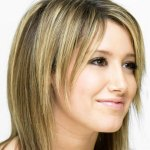 Ashley Tisdale Straight Hair Style
