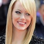 Emma Stone Straight hairstyle