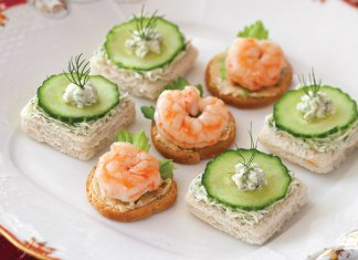 Cucumber-Dill-Canape-Recipe