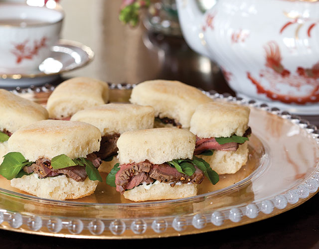 Holiday Savories: 9 of Our Favorites Beef au Poivre and Watercress Tea Sandwiches