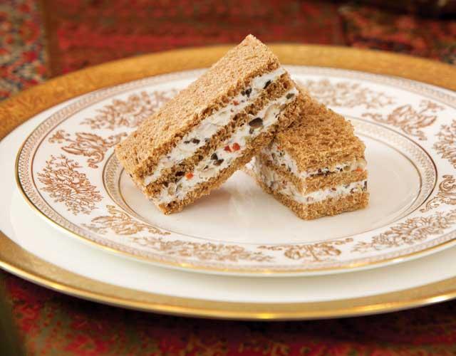 Olive-Pecan-Finger-Sandwiches