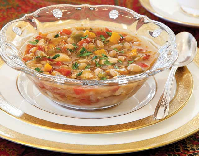 Smoky-Chicken-and-Bean-Soup