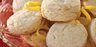 Gluten-free Macadamia-Lemon Scones