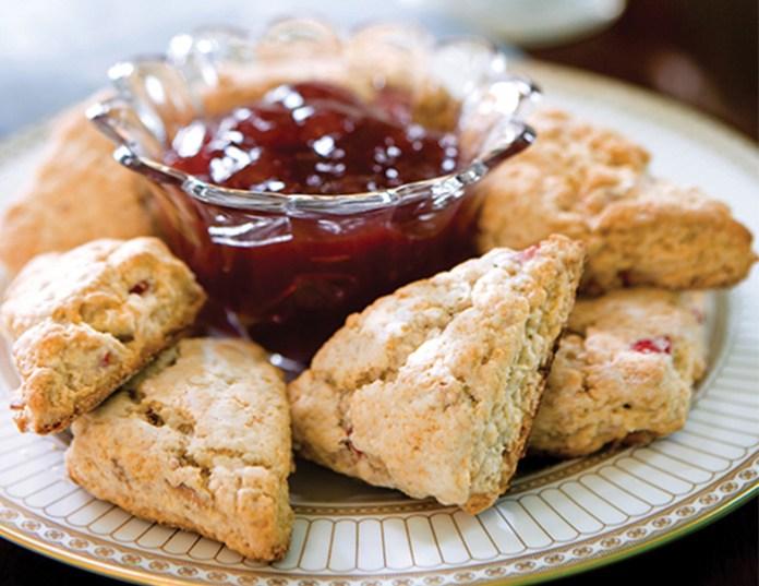 Strawberry-Lavender-Scone