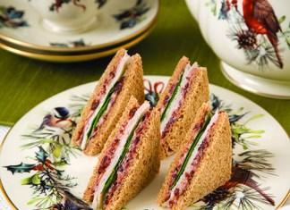 Smoked-Turkey-And-Cranberry-Cream-Sandwich