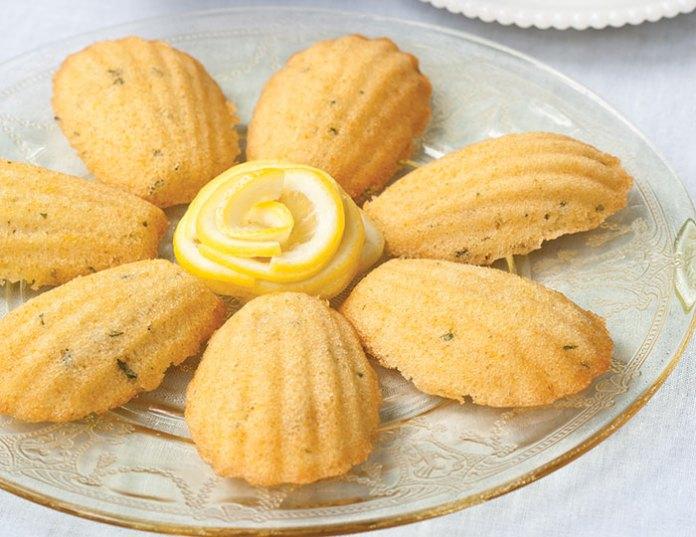 Honey Tarragon Madeleines