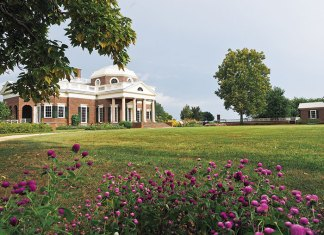 The lawn at Monticello