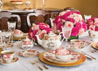 A Rosy Valentine Afternoon Tea