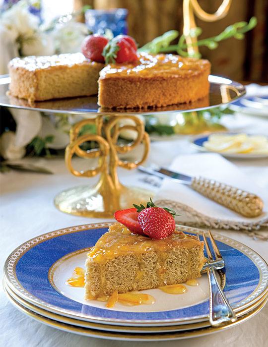 Spiced Orange Sponge Cake