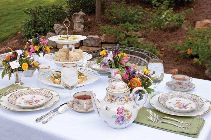 Springtime Flowers Tea