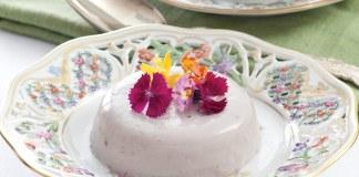 Hibiscus–Vanilla BeanPanna Cottas