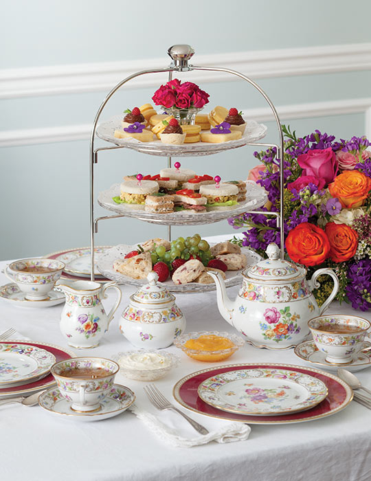 How-To Create Your Own Afternoon Tea Menu