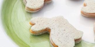Ham and CheeseTea Sandwiches