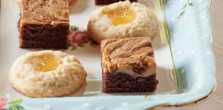 Pineapple-Almond Thumbprint Cookies