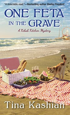 TinaKashian's One Feta in the Grave is a Compelling Mystery