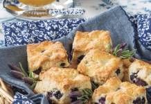 Blueberry & Lavender Scones