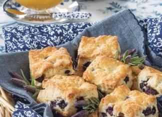 Blueberry & Lavender Scones