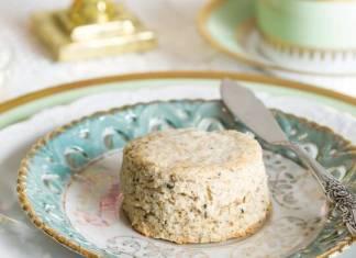 Jasmine-Green Tea & Coconut Scones
