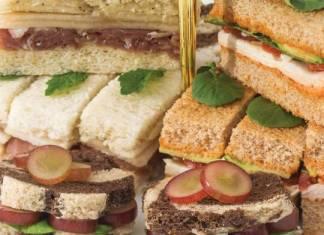 Grape & Gorgonzola Tea Sandwiches