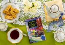 Untangling a Mystery in Murder in a Scottish Shire by Traci Hall