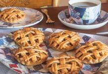 Apple-Cranberry Tartlets