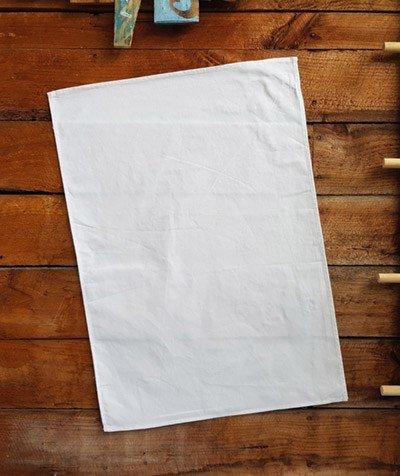 Bulk Blank White Teatowels NZ