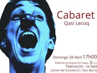 """Cabaret """"Quasi Lecoq"""""""