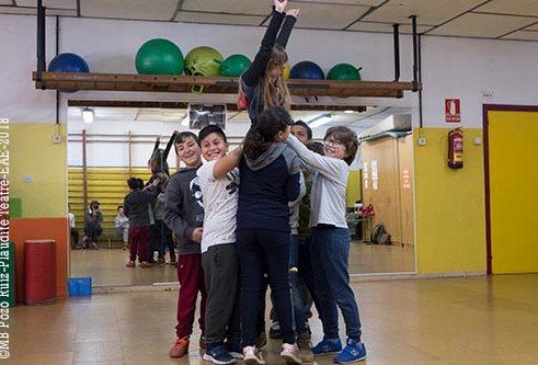 Tàndem de Teatre a l'escola Milagros Consarnau