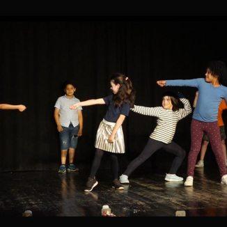 Fem Tàndem LH de Teatre a l'Escola Provençana