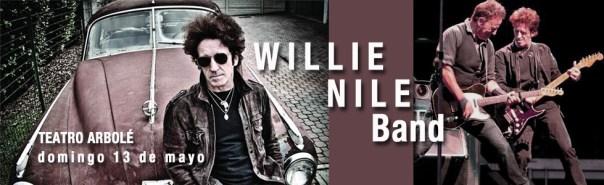 Willie Nile Band en Teatro Arbolé