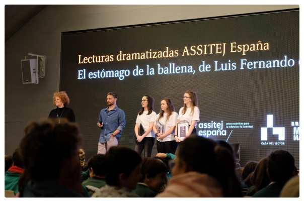 La Escuela Arbolé ha participado en el VII Ciclo ASSITEJ de lecturas dramatizadas.