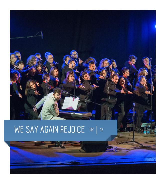 I rejoice e i conquerors al teatro delfino il 2 dicembre per un imperdibile concerto gospel!