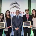 Ganadores de los premios Creative Technologie de Citroën.